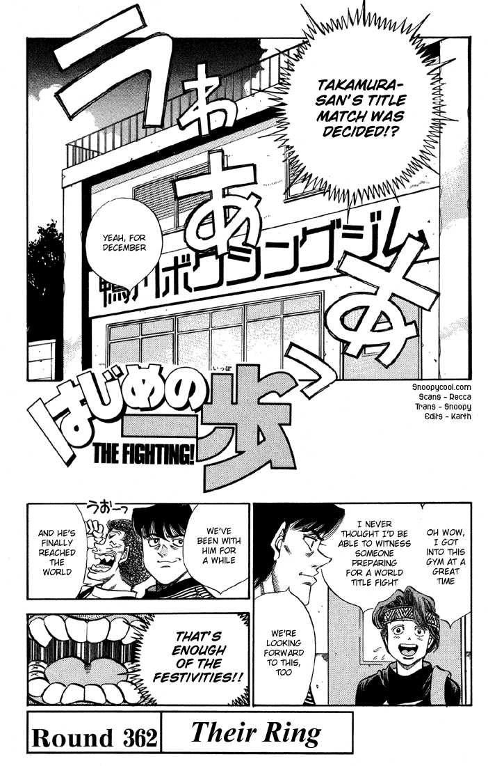 Hajime no Ippo 362 Page 4