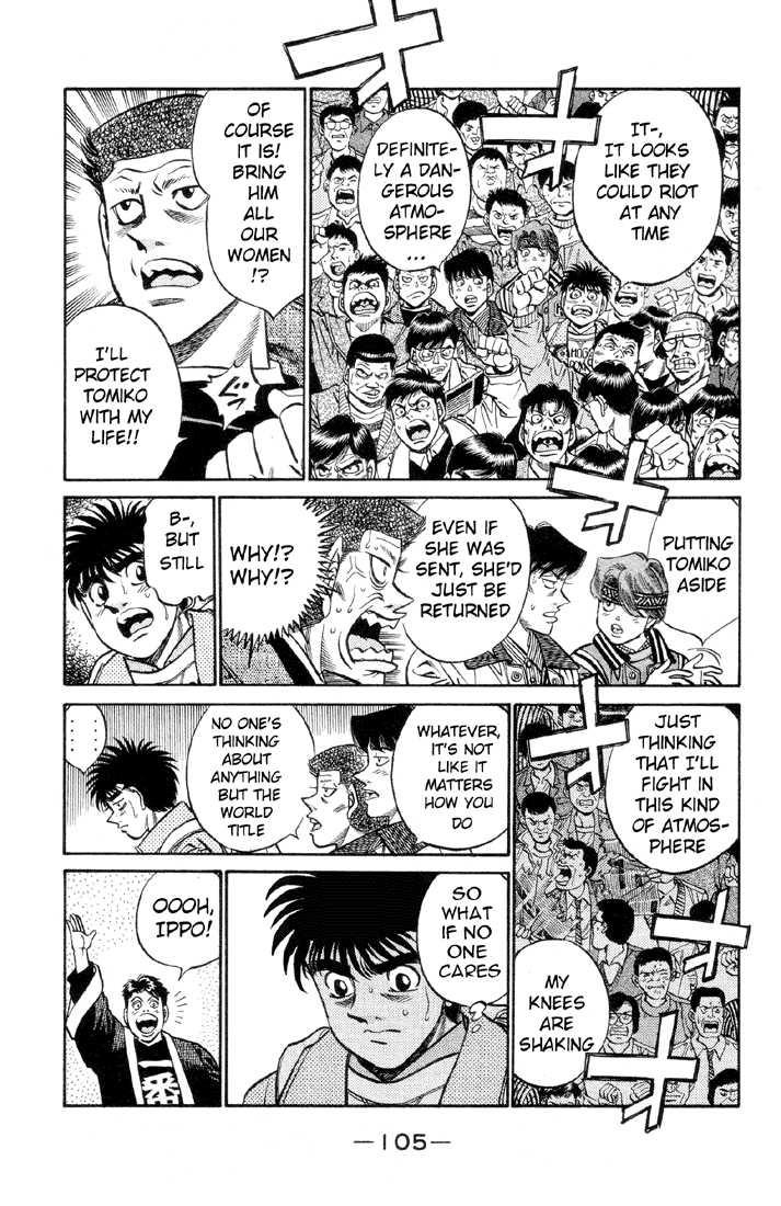 Hajime no Ippo 376 Page 3