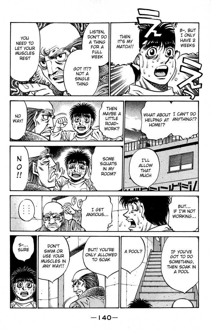 Hajime no Ippo 423 Page 2