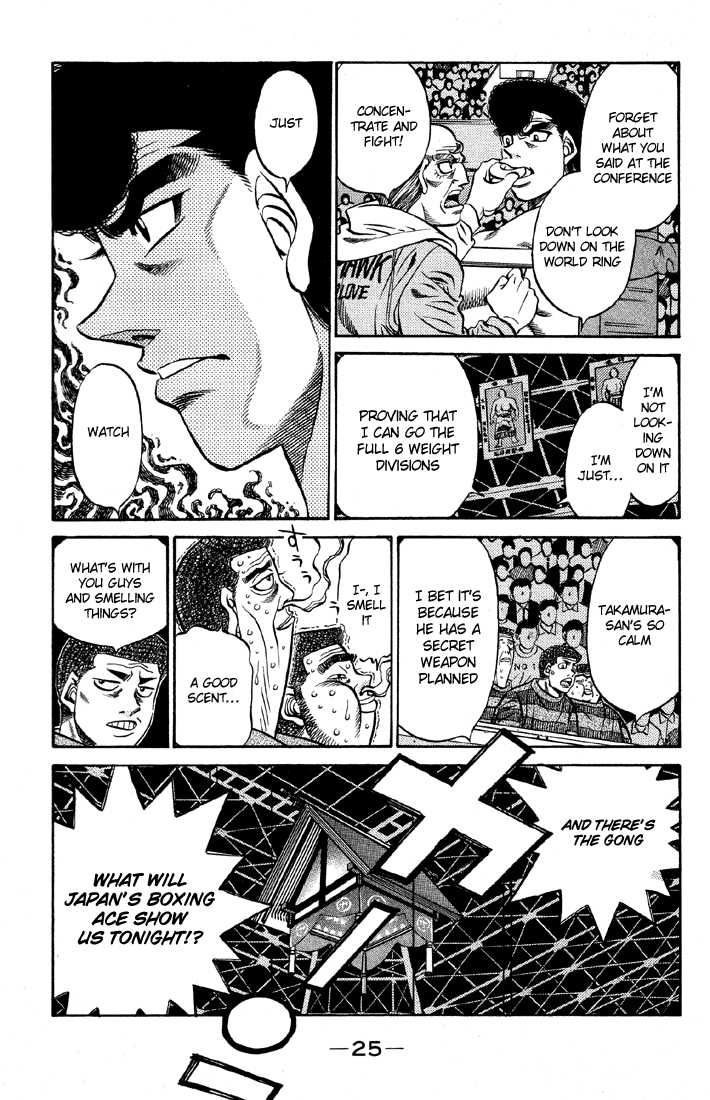 Hajime no Ippo 464 Page 3