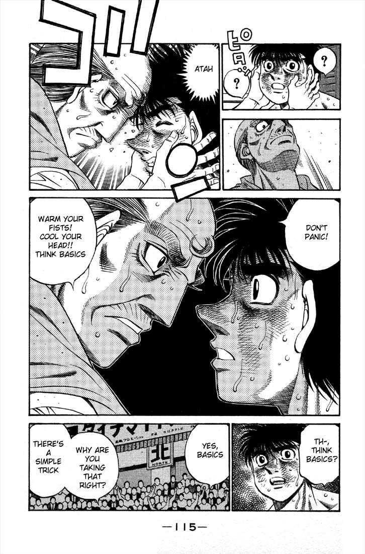 Hajime no Ippo 489 Page 3