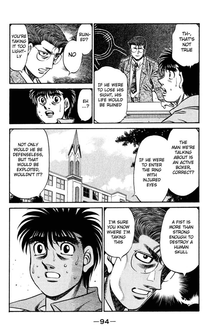 Hajime no Ippo 518 Page 2