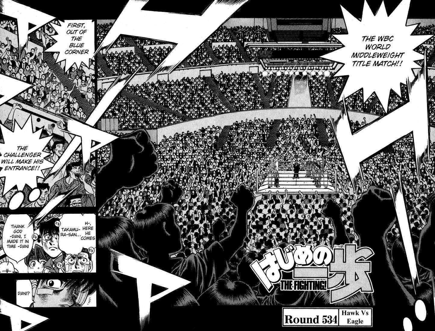 Hajime no Ippo 534 Page 2
