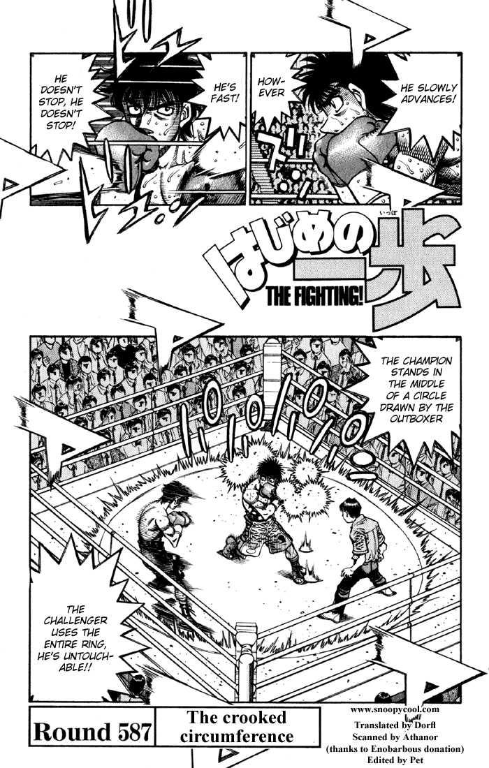 Hajime no Ippo 587 Page 1