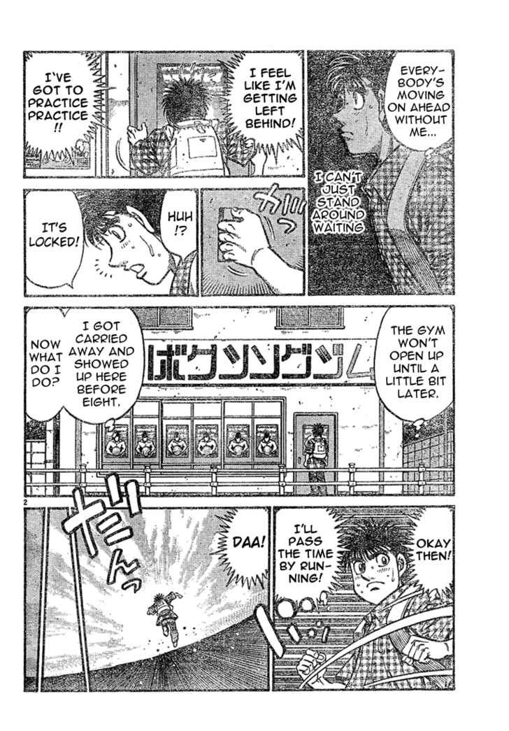 Hajime no Ippo 726 Page 2