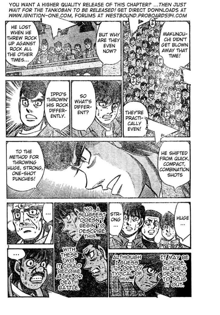 Hajime no Ippo 736 Page 2