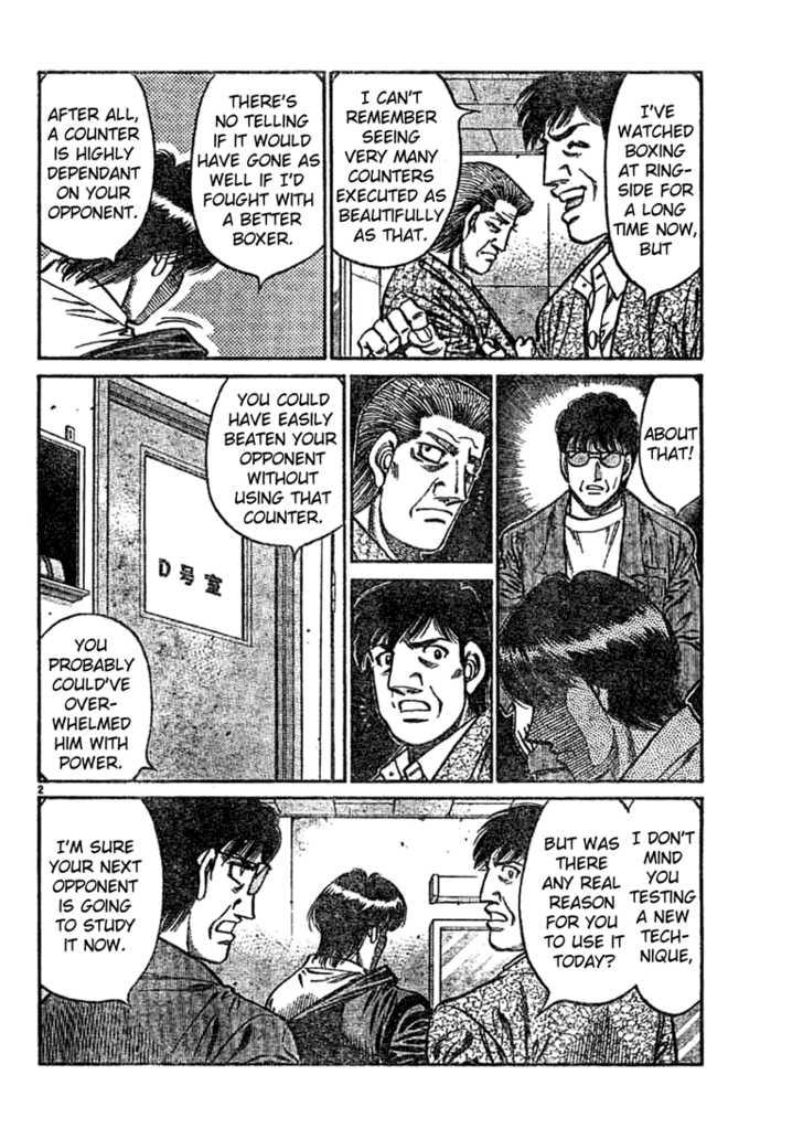 Hajime no Ippo 750 Page 2