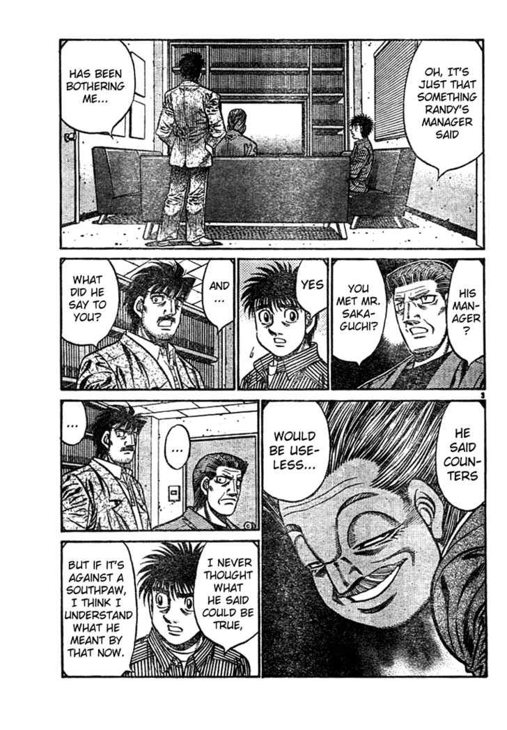 Hajime no Ippo 752 Page 3