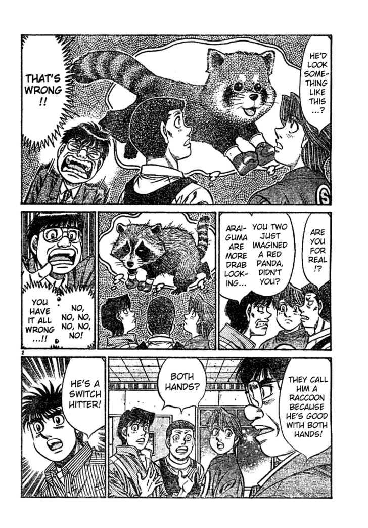 Hajime no Ippo 754 Page 2