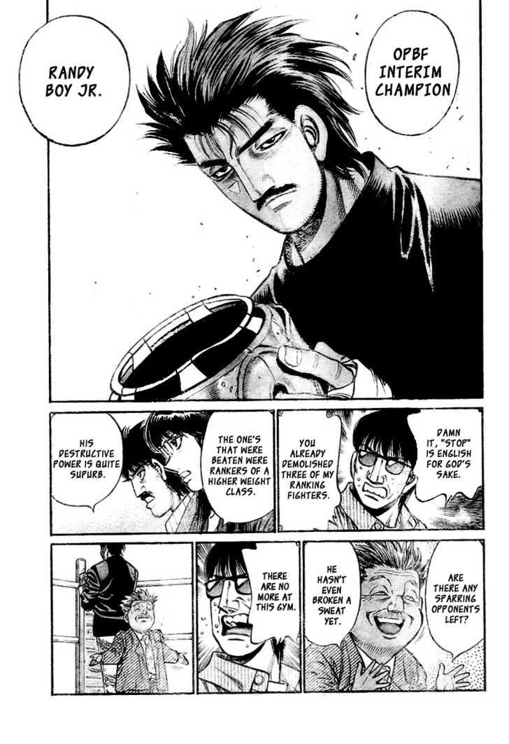 Hajime no Ippo 796 Page 3
