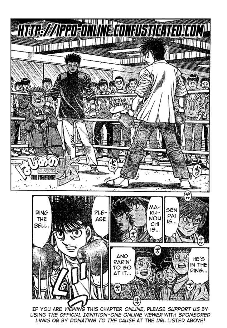 Hajime no Ippo 800 Page 1