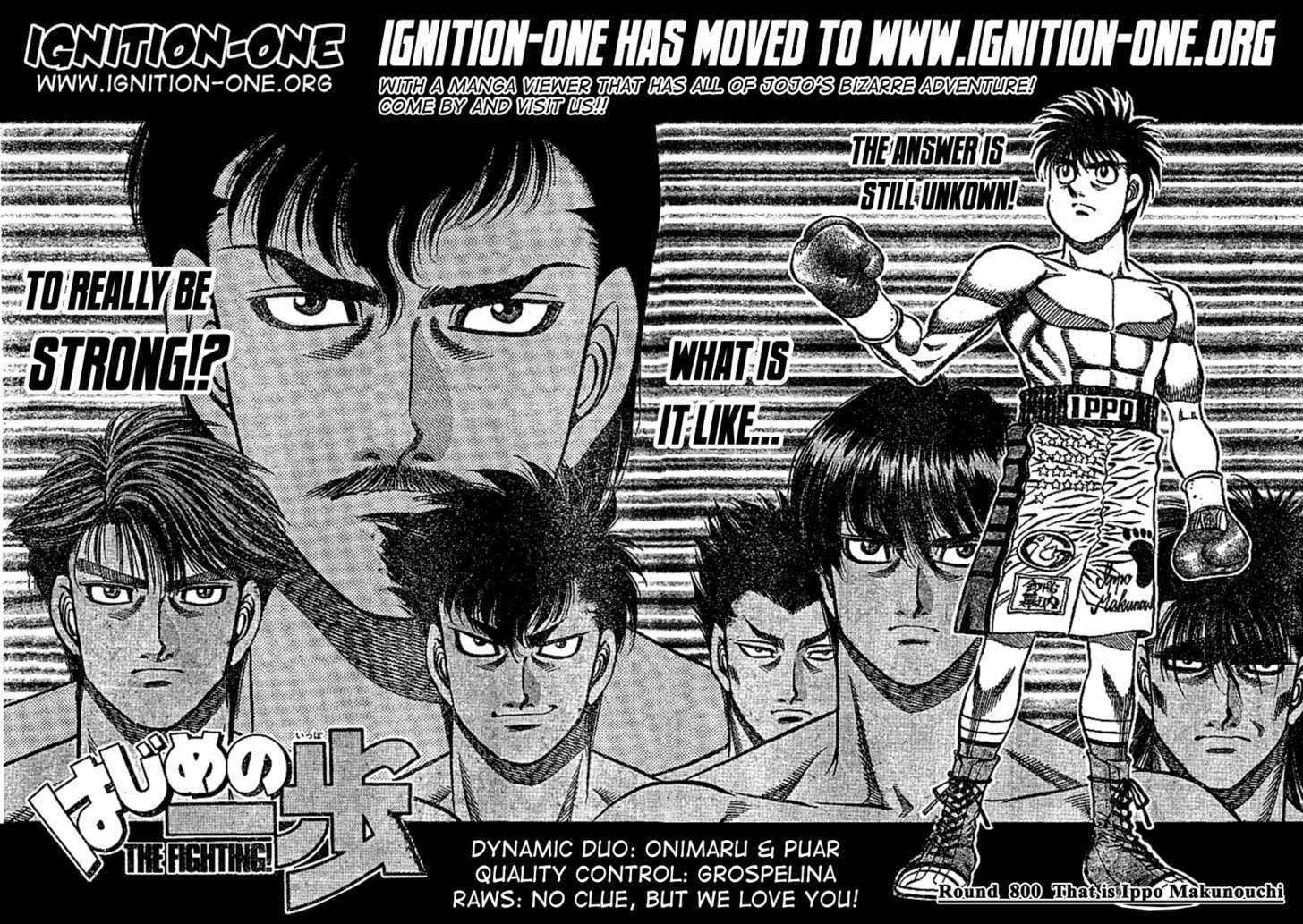 Hajime no Ippo 800 Page 2