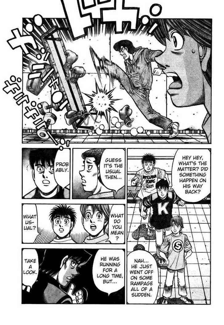 Hajime no Ippo 805 Page 3