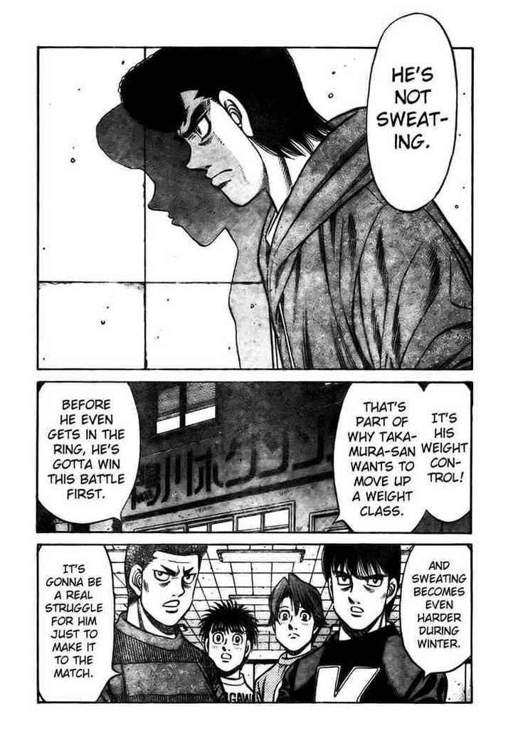 Hajime no Ippo 805 Page 4