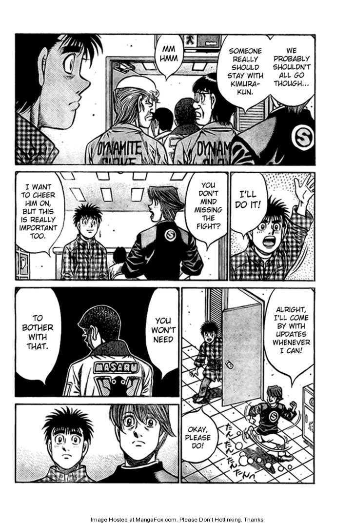 Hajime no Ippo 818 Page 2