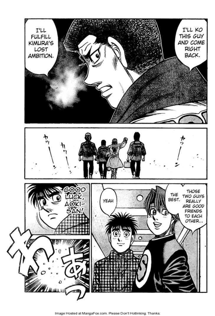 Hajime no Ippo 818 Page 3