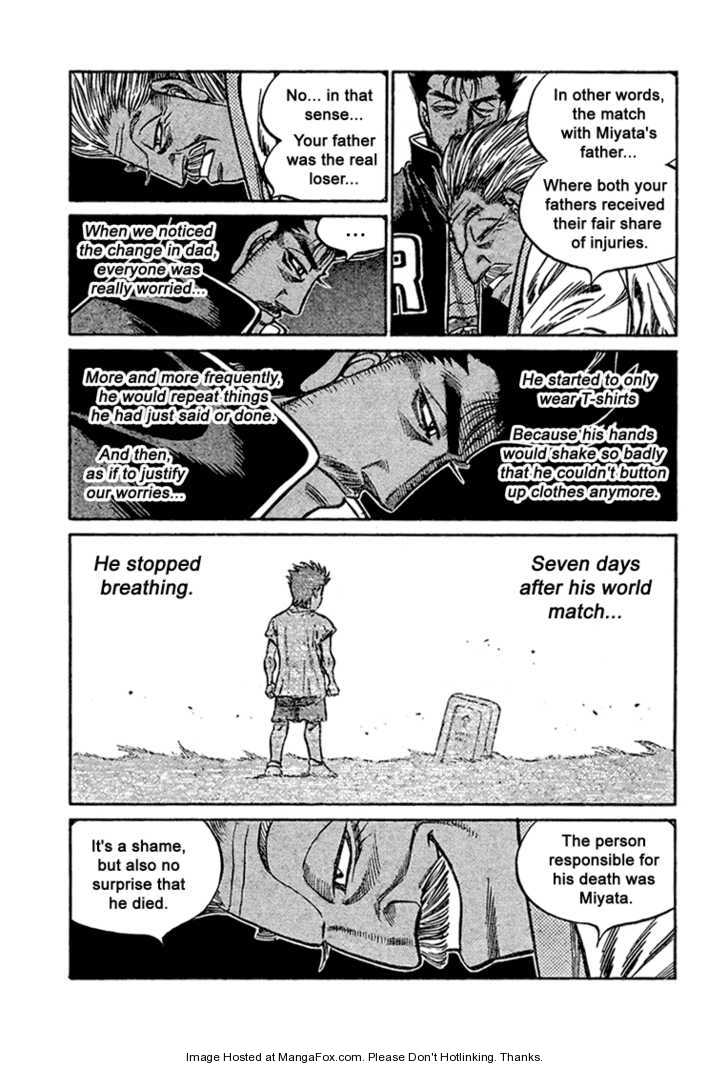 Hajime no Ippo 820 Page 3