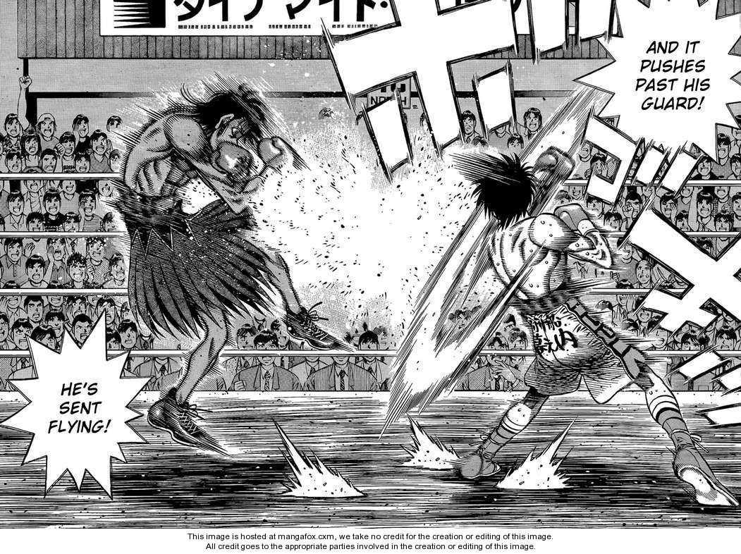 Hajime no Ippo 867 Page 5