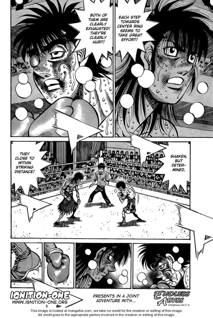 Hajime no Ippo 892 Page 2