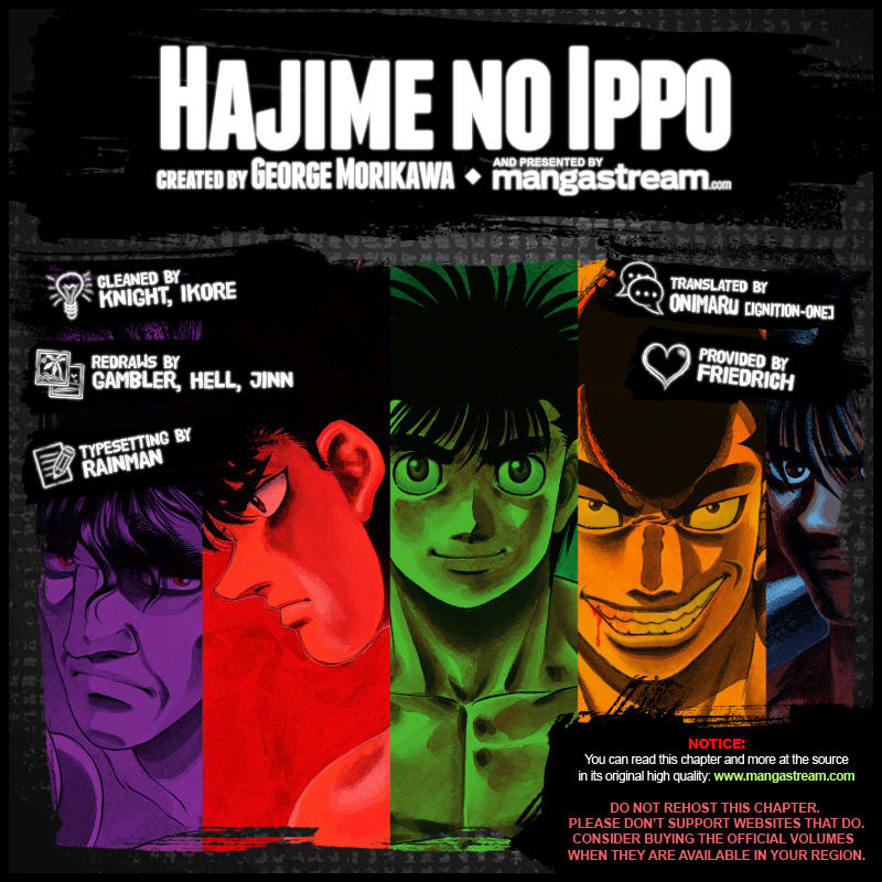 Hajime no Ippo 1042 Page 2
