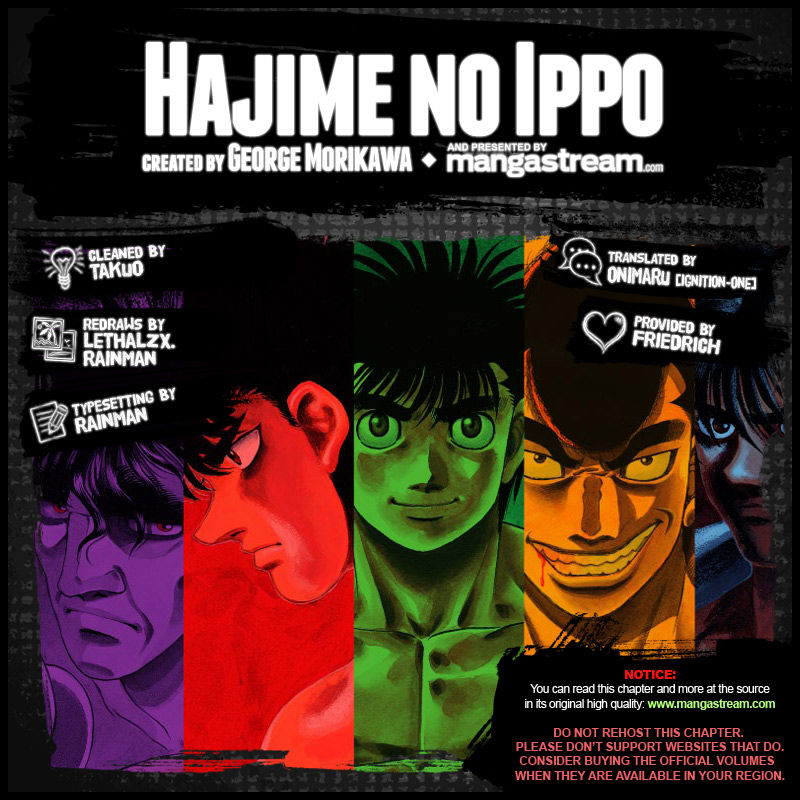 Hajime no Ippo 1049 Page 2