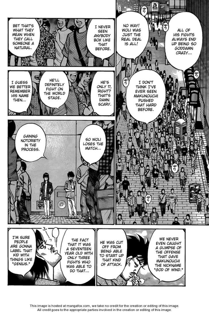 Hajime no Ippo 895 Page 2