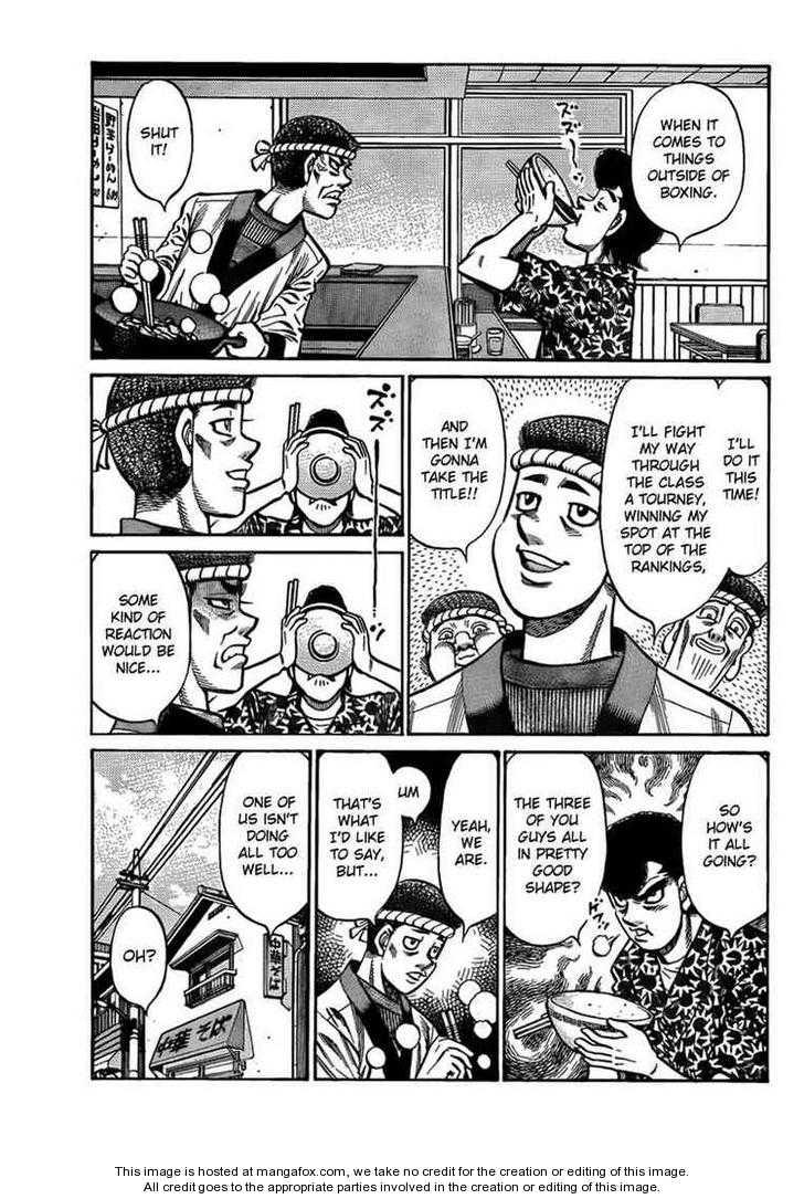 Hajime no Ippo 899 Page 3