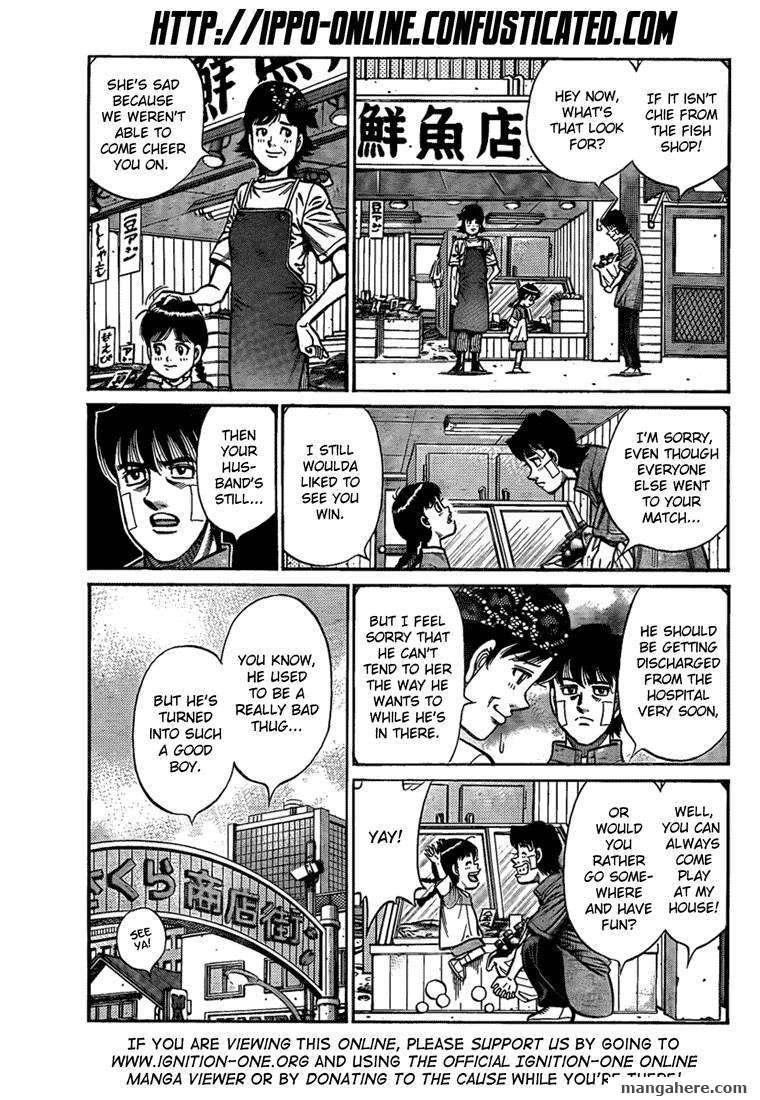 Hajime no Ippo 913 Page 3