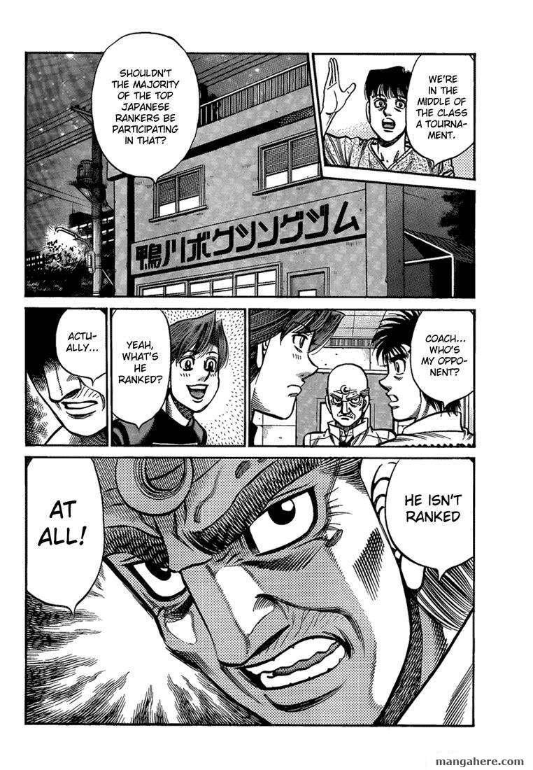 Hajime no Ippo 916 Page 2