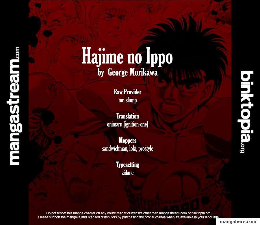 Hajime no Ippo 919 Page 2
