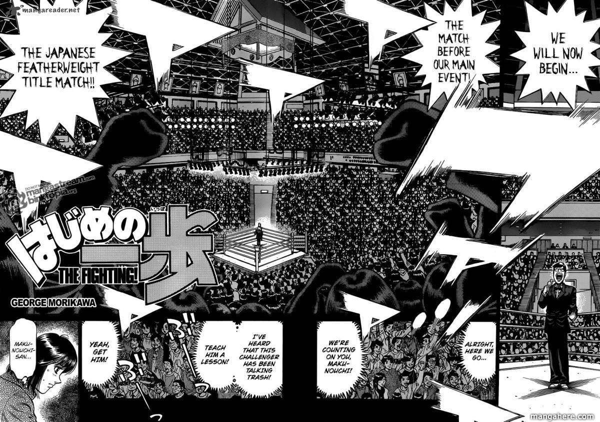 Hajime no Ippo 931 Page 3