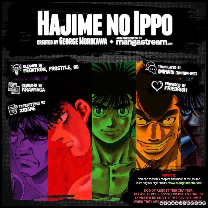 Hajime no Ippo 957 Page 2