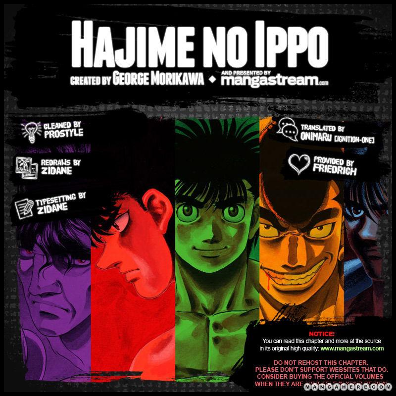 Hajime no Ippo 964 Page 2