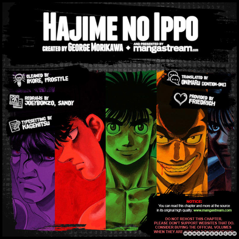Hajime no Ippo 968 Page 2