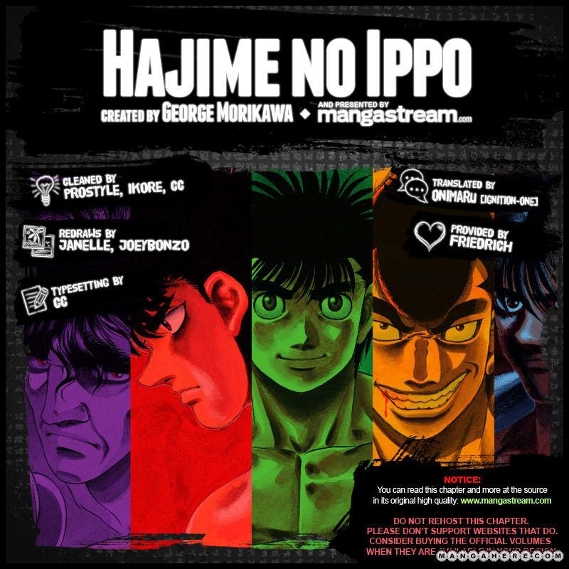 Hajime no Ippo 969 Page 2