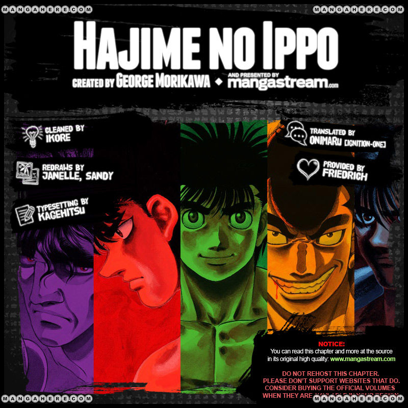 Hajime no Ippo 972 Page 2