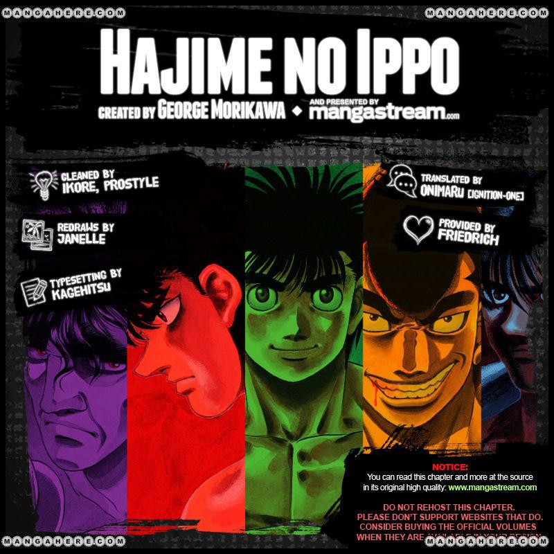 Hajime no Ippo 977 Page 2