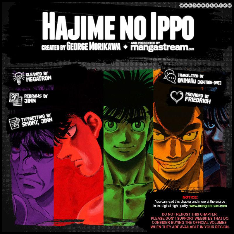 Hajime no Ippo 985 Page 2