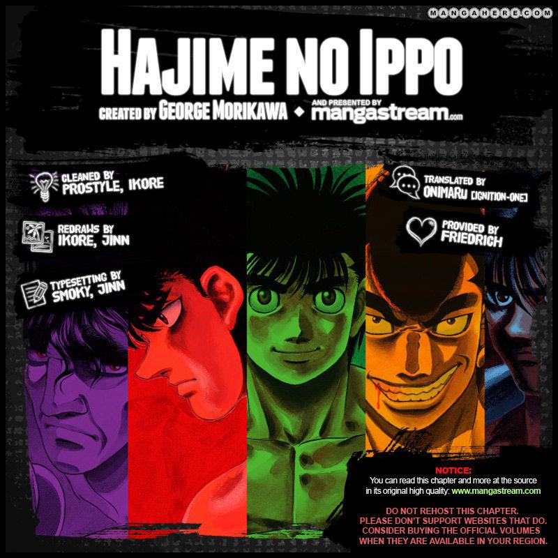 Hajime no Ippo 998 Page 2