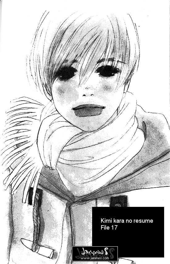 Kimi Kara no Resume 17 Page 1
