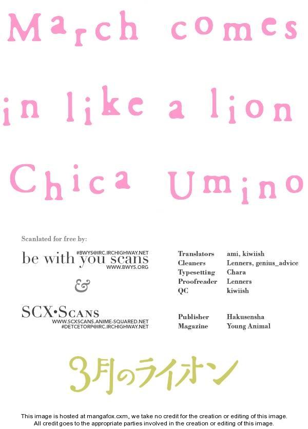 Sangatsu No Lion 8 Page 1
