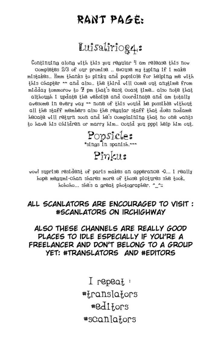 Nodame Cantabile 69 Page 1