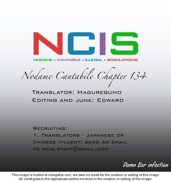 Nodame Cantabile 134 Page 1