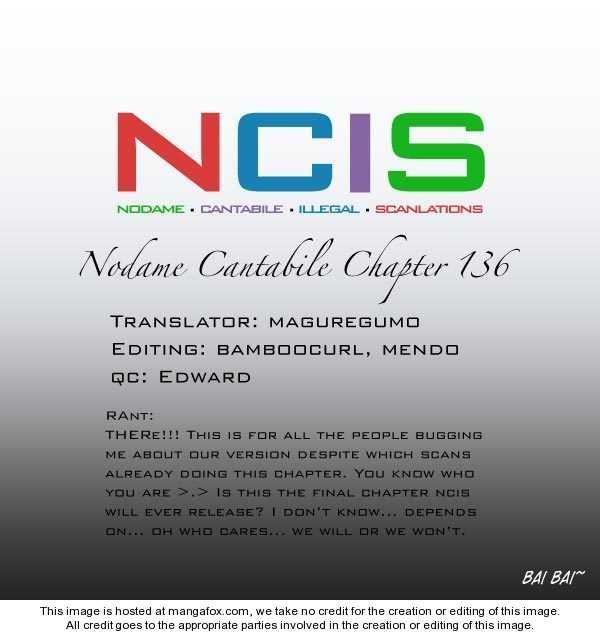 Nodame Cantabile 136 Page 1