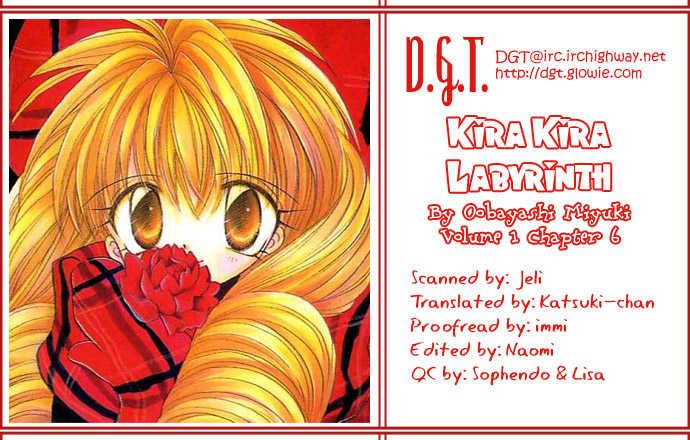 Kira Kira Labyrinth 6 Page 1