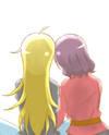 New Game! dj - Yagami-san and Tooyama-san