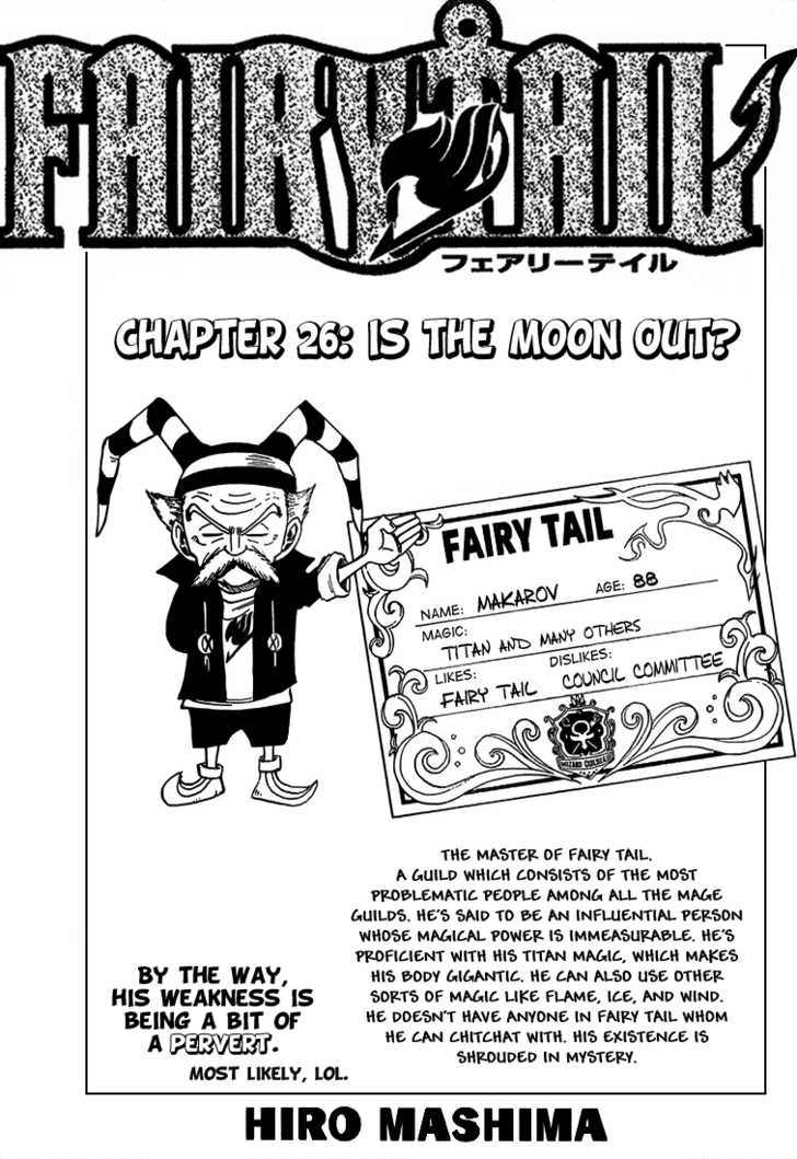 Fairy Tail 26 Page 1