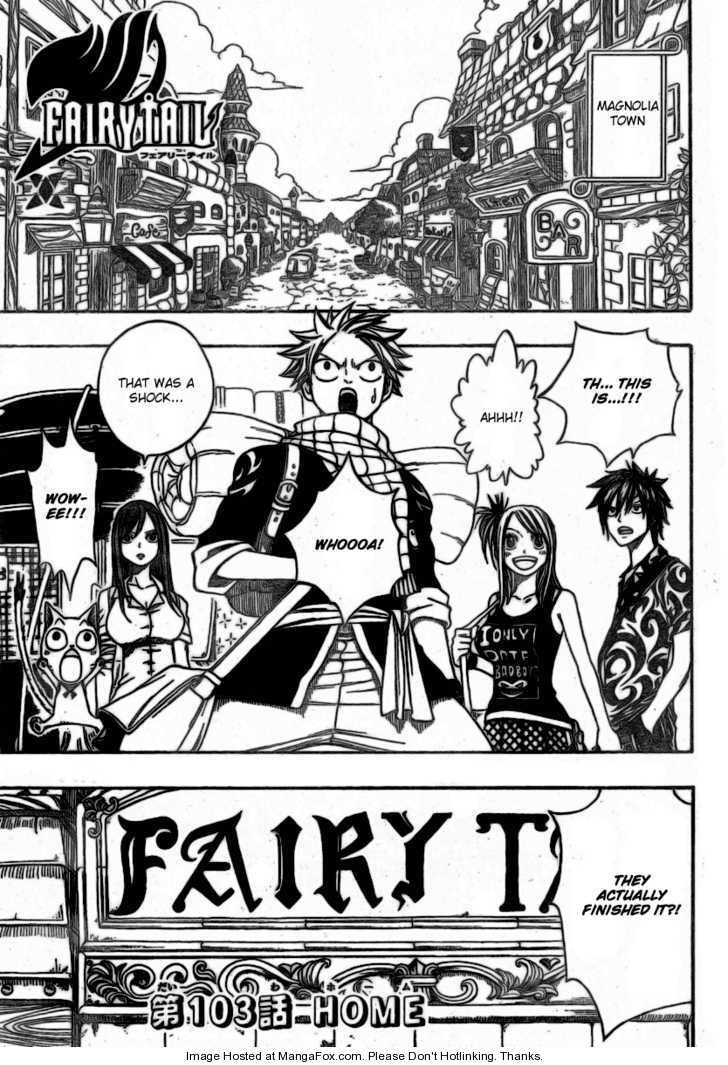 Fairy Tail 103 Page 1
