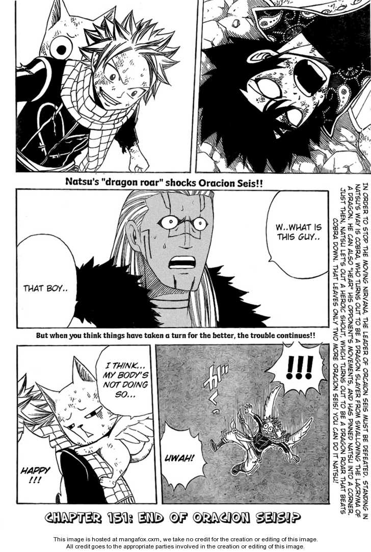Fairy Tail 151 Page 3