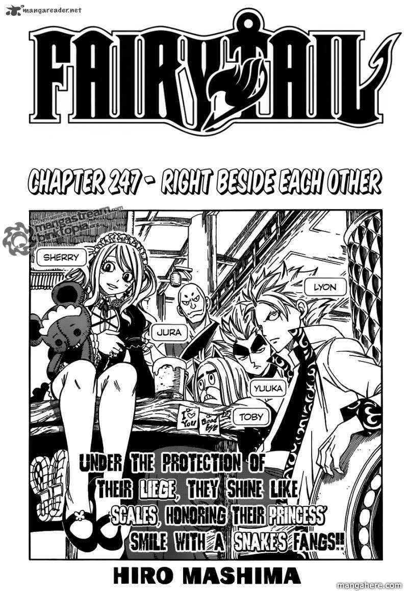 Fairy Tail 247 Page 1
